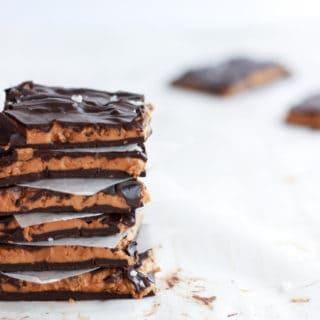 Decadent chocolate butter bark