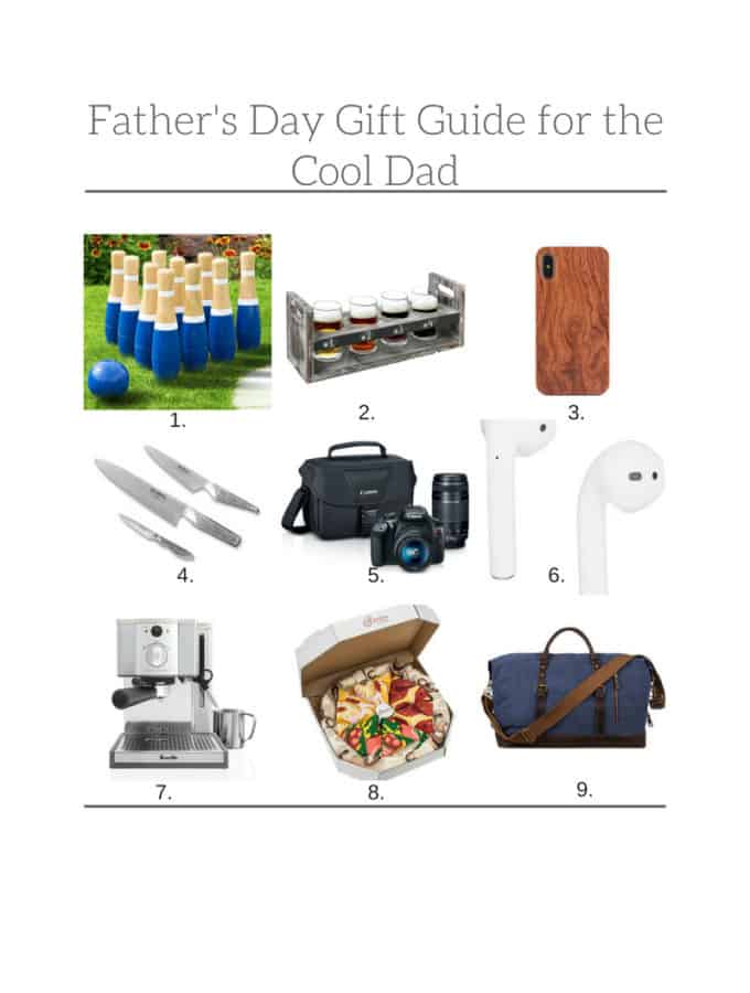 Fathers Day Gift Guide for the Cool Dad. #fathersday #dadgifts #cooldad Frostingandfettuccine.com