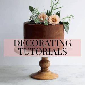 Decorating Tutorials