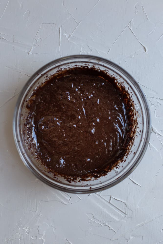 Batter for one bowl brownies